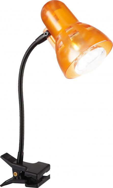 Elegant clamp lamp metal plastic orange - Globo CLIP 54852 – Bild 2