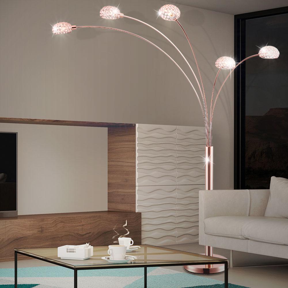 wohnzimmer stehlampe im edlen design mit schalter lampen m bel r ume wohnzimmer. Black Bedroom Furniture Sets. Home Design Ideas