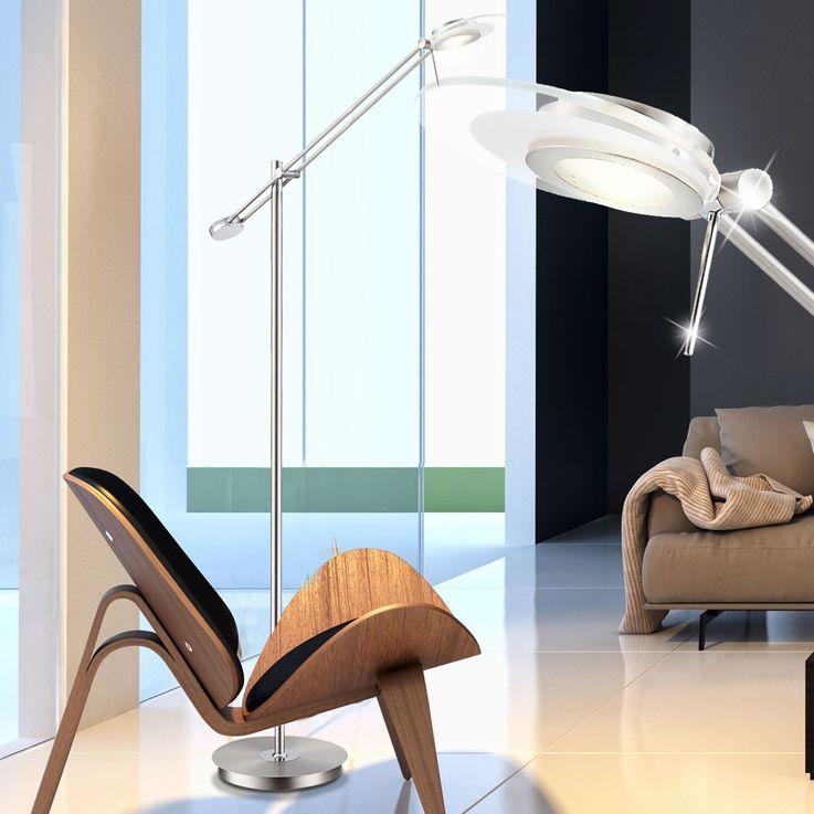 LED 6 Watt ceiling floodlights stand reading light dining room lighting EEK A + Globo 59029S – Bild 3