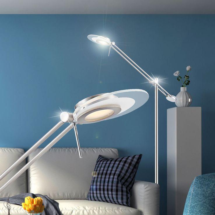LED 6 Watt ceiling floodlights stand reading light dining room lighting EEK A + Globo 59029S – Bild 4