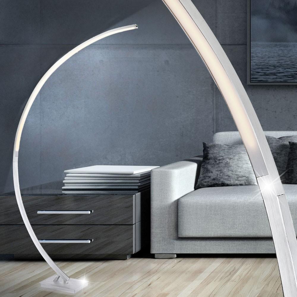 Exquisit Stehlampe Bogen Ideen Von Steh Beleuchtung Dimmbar Led 24 Watt Leuchte