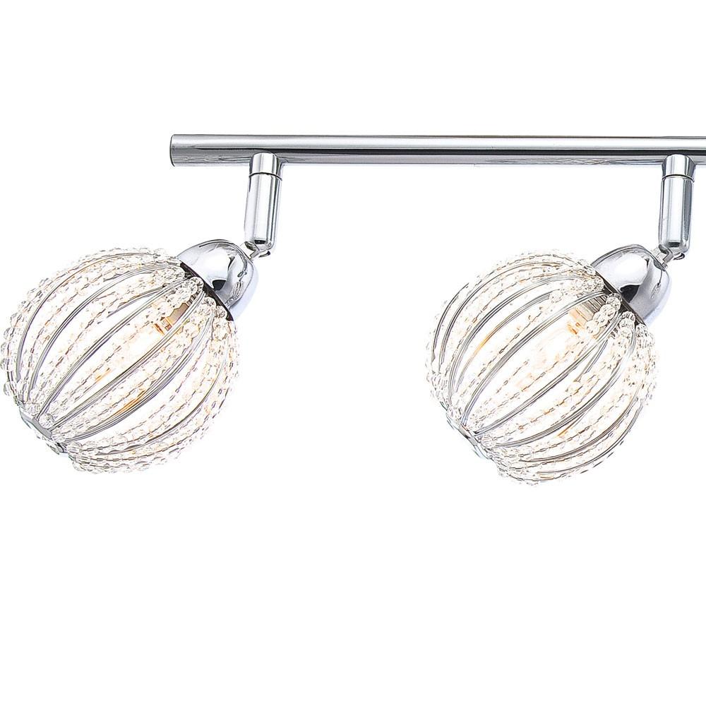 Plafonnier luminaire plafond boules spots mobiles for Luminaire plafonnier boule
