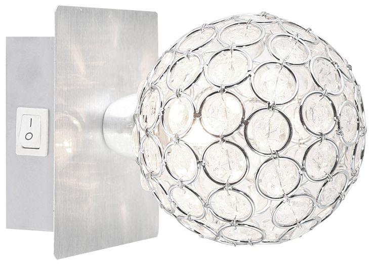 Elegante Wandleuchte mit Kristallen AZALEA – Bild 1