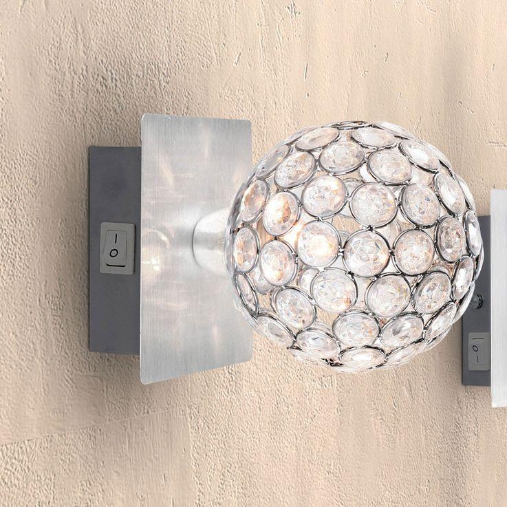 Elegante Wandleuchte mit Kristallen AZALEA – Bild 6