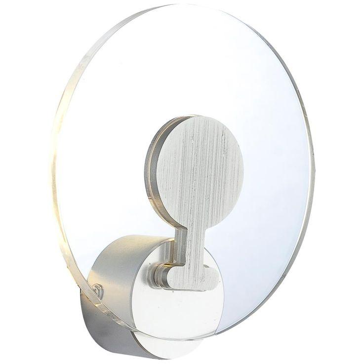 Design LED Wandlampe in Aluminium mit Acryl FANNY – Bild 1