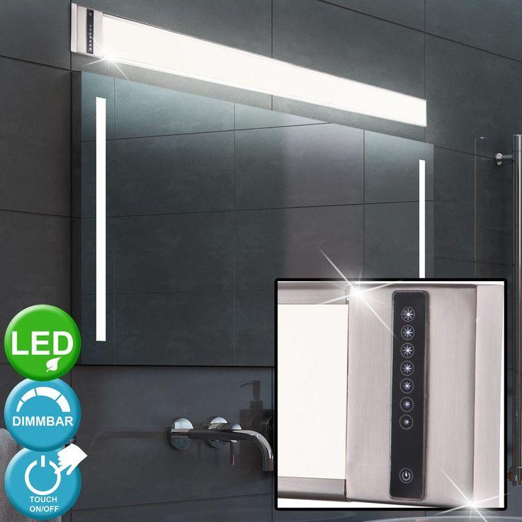30 W LED Wand Leuchte Arbeits Zimmer Lampe silber Touch Dimmer Büro Strahler Globo 41622W2 – Bild 2
