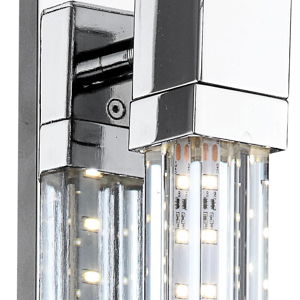 led glas 5 2 w 4000 kelvin chrom treppenhaus lampe 547. Black Bedroom Furniture Sets. Home Design Ideas