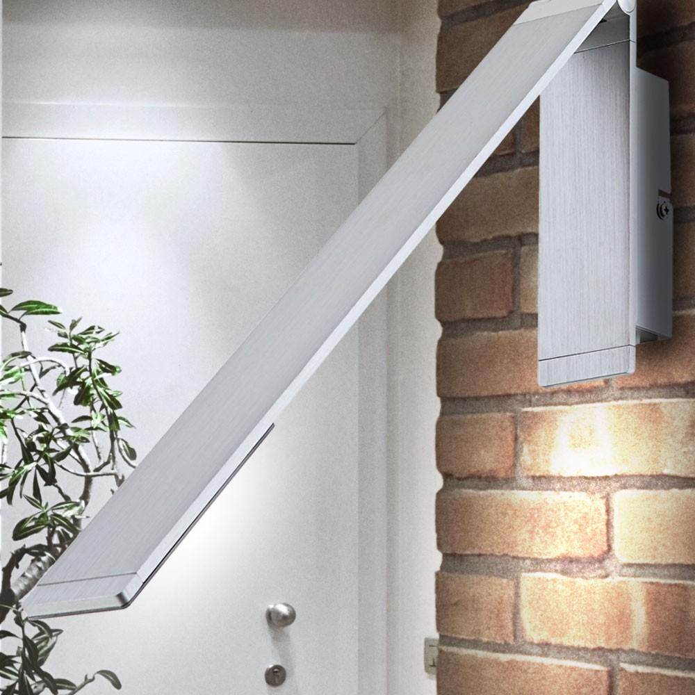led wand lampe 6 watt beweglich silber esszimmer leuchte lese beleuchtung 1 flg ebay. Black Bedroom Furniture Sets. Home Design Ideas