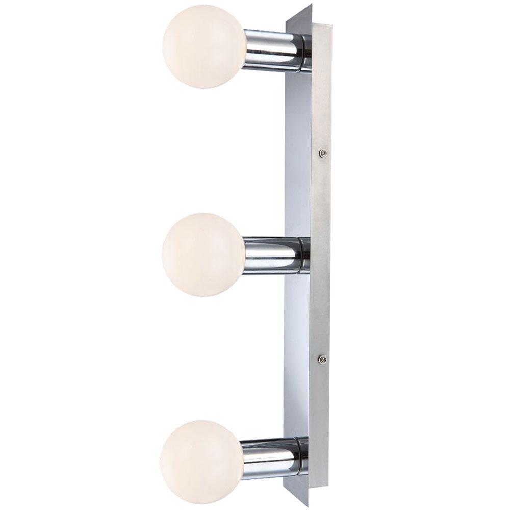 Led Wandleuchte Fur Ihr Badezimmer Ip44 Aus Chrom Solig Lampen