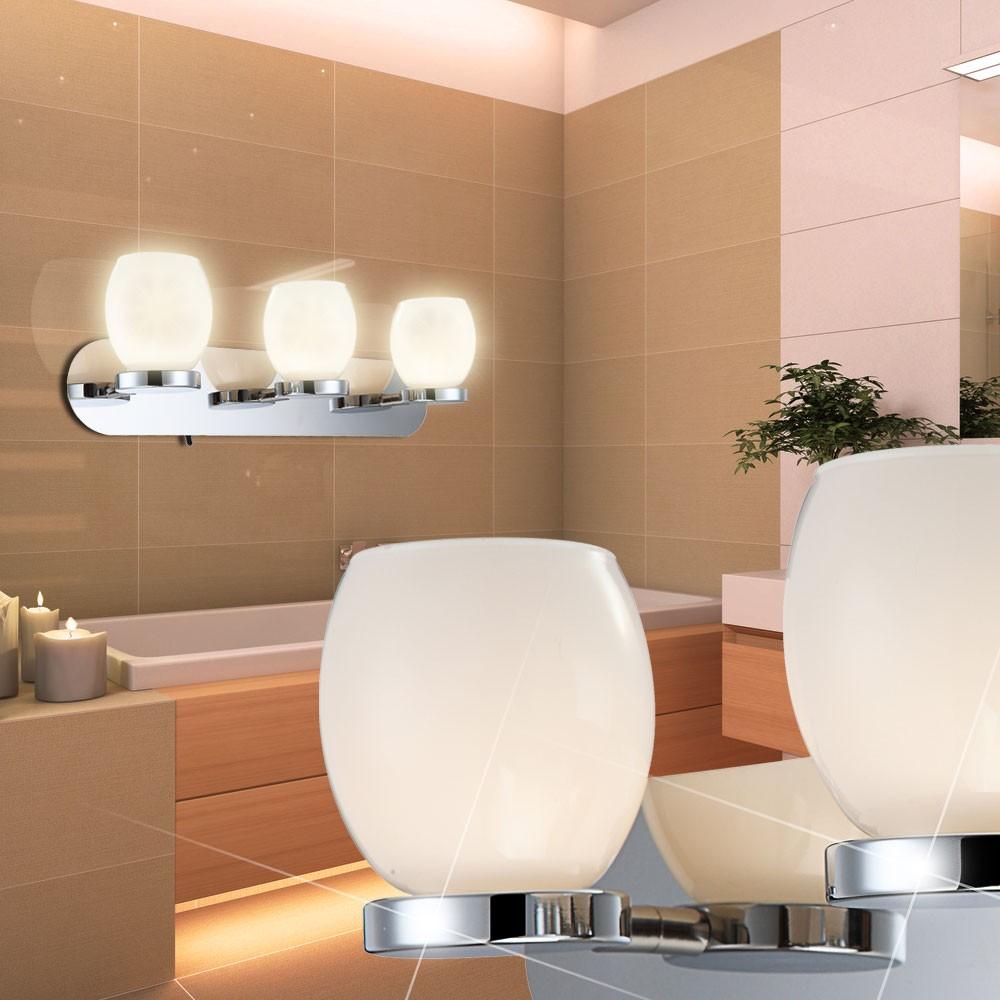 moderne led beleuchtung aus chrom und glas dano lampen m bel r ume k che. Black Bedroom Furniture Sets. Home Design Ideas