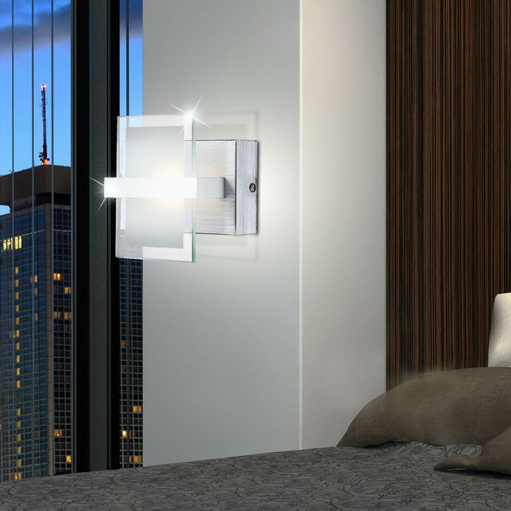 LED wall lamp made of aluminum for your living room ENISA – Bild 2