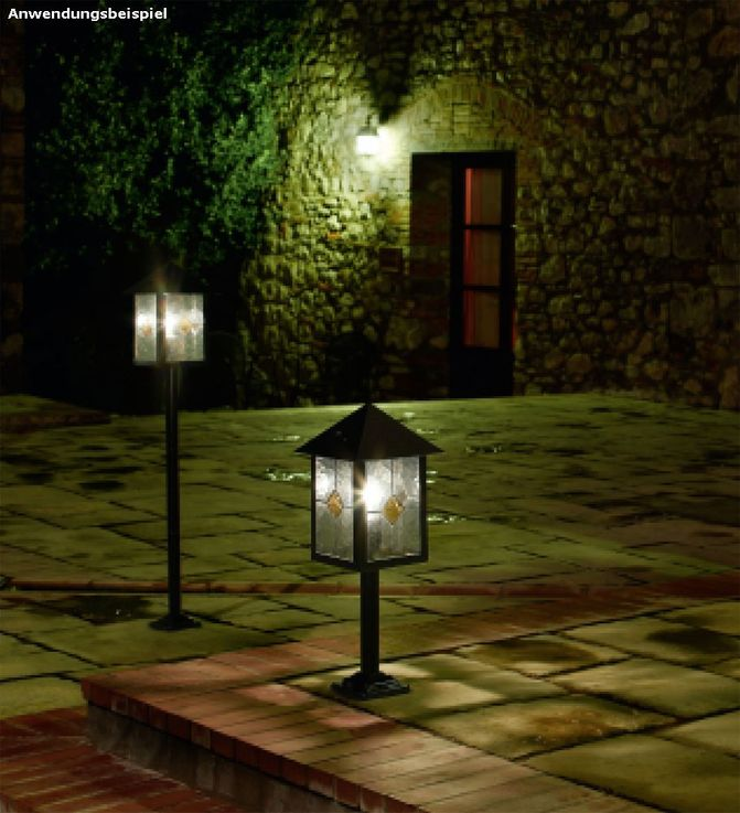 Get lamp outdoor lighting steel glass Tiffanitechnik decor Eglo LibertÁ  22439 – Bild 7