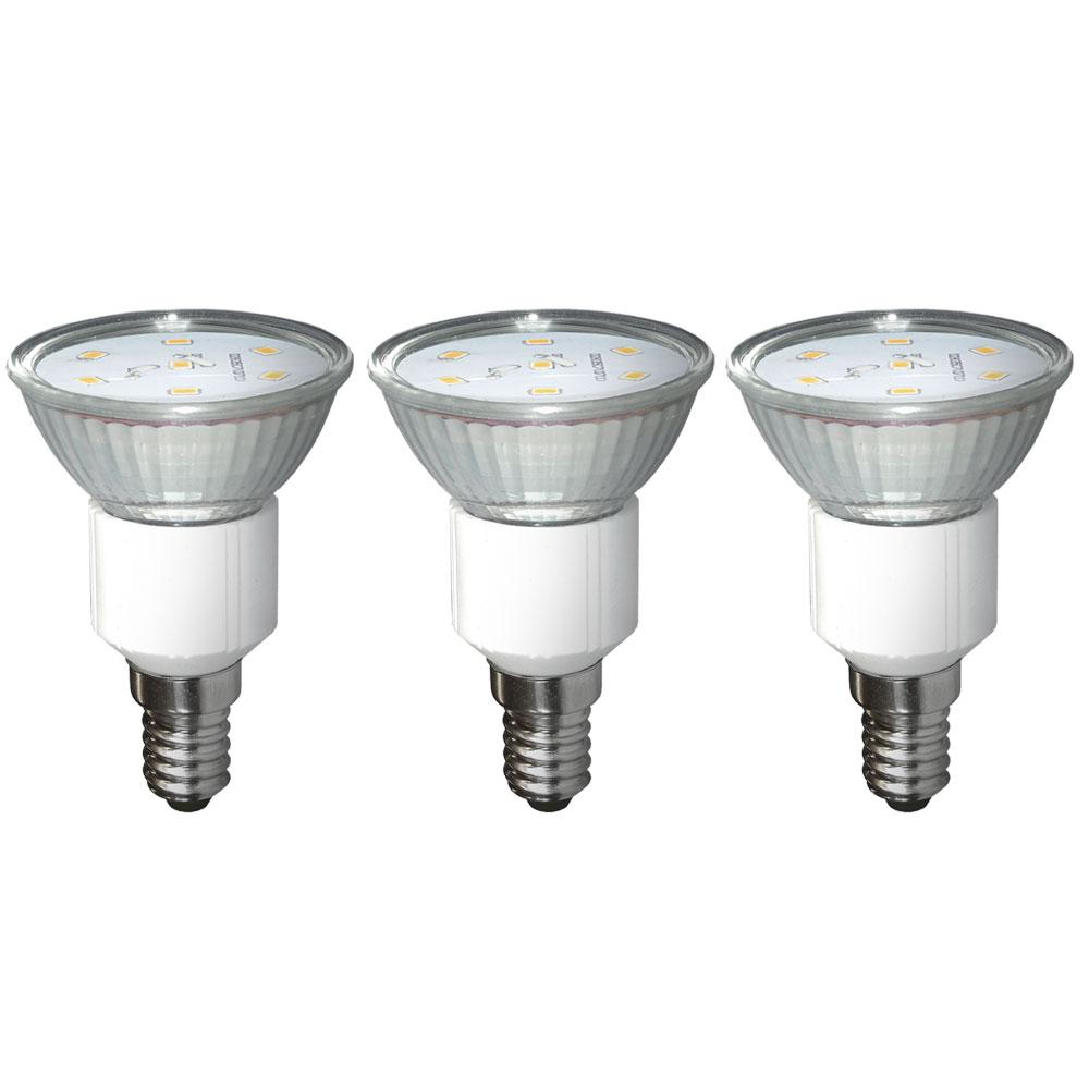 hochwertige 3 watt smd led leuchtmittel im 3er pack lampen m bel leuchtmittel led lampen. Black Bedroom Furniture Sets. Home Design Ideas