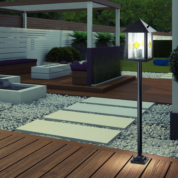 LED lamp for outdoor use of a steel casing – Bild 2