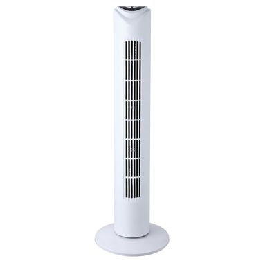 Design Tower fan column air oscillating fan timer remote control 3 stages white Globo 0452 – Bild 1