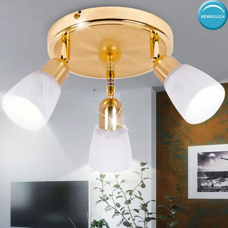 Design ceiling light lamp lighting round Rondell mobile  Brilliant SOFIA 55334/18 – Bild 3