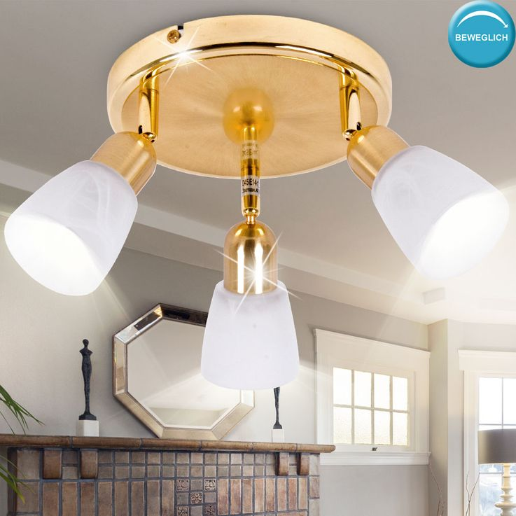Design ceiling light lamp lighting round Rondell mobile  Brilliant SOFIA 55334/18 – Bild 2