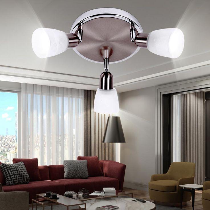 Ceiling Lamp Spot Rondelle Luminaire Chrome Plated Mobile  Brilliant SOFIA 55334/77 – Bild 3