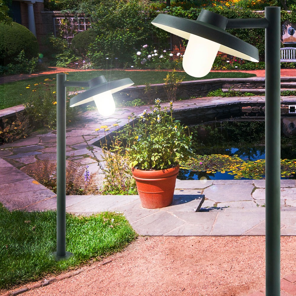 Led 7 watt floor lamp patio lighting outdoor spotlight for Eclairage exterieur a led