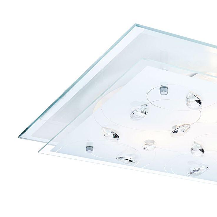 Élégant Plafonnier LED design floral – Bild 4