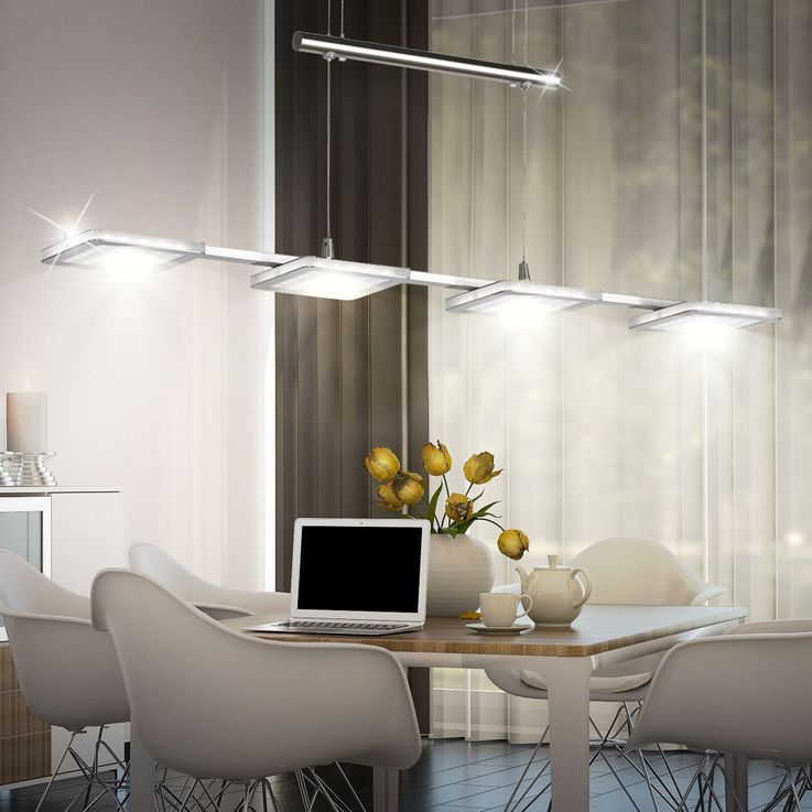 Design LED Pendant hanging lamp Dining room Ceiling floor light DIMMER EEK A WOFI 7889.04.64.0000 – Bild 3