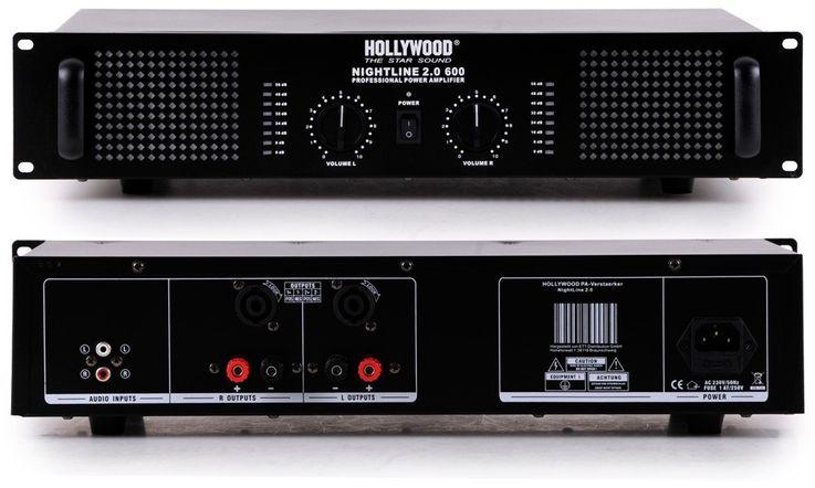 Chaîne hi-fi 3000W PA musique système haut-parleurs amplificateur table de mixage microphones – Bild 3