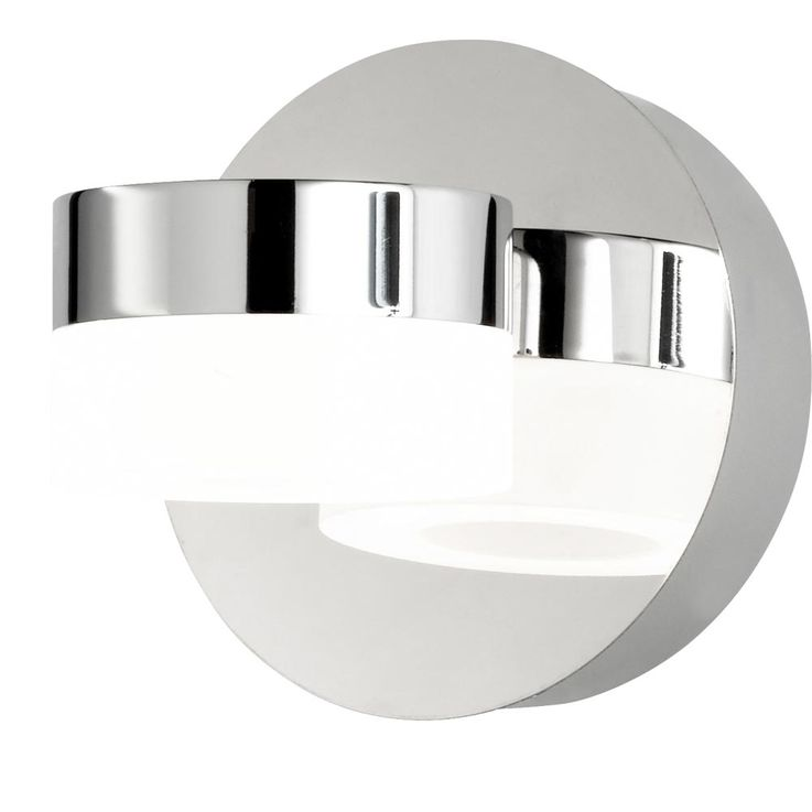 Design LED wall light ring energy saving lighting chrome lamp spotlight WOFI 4502.01.01.0044 – Bild 6