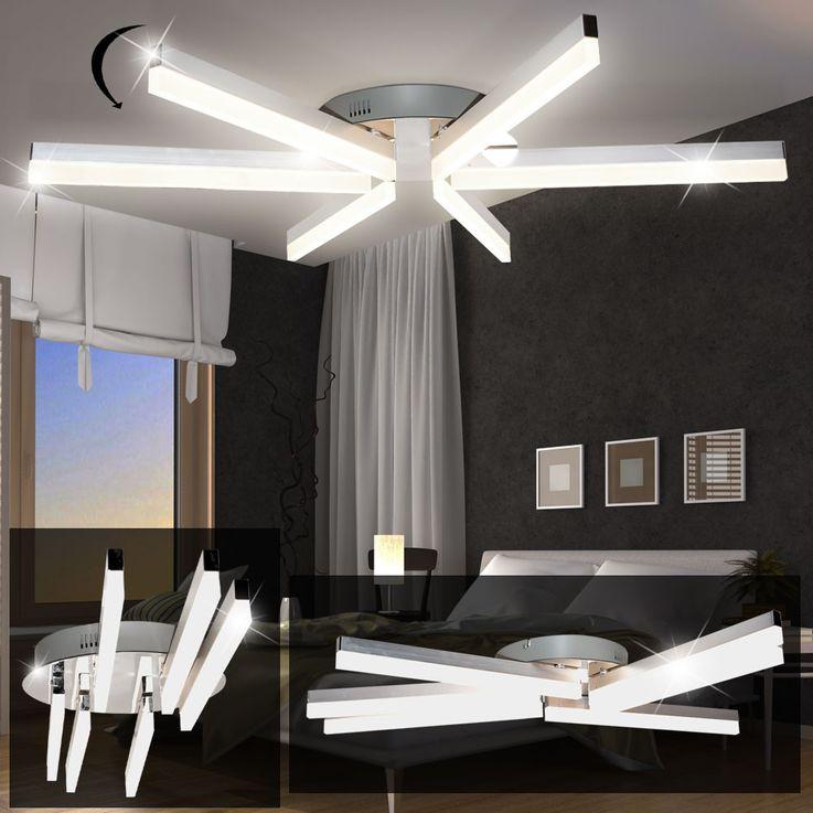 Design LED 24 Watt Decken Beleuchtung Strahler schwenkbar Lampe Leuchte EEK A+ WOFI 9786.06.54.0000 – Bild 3