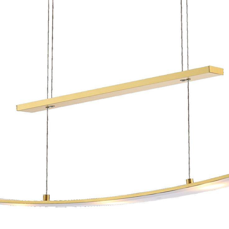 LED Pendel Leuchte 21 Watt Hänge Lampe verstellbare Beleuchtung Wofi 6277.05.22.0000 – Bild 5