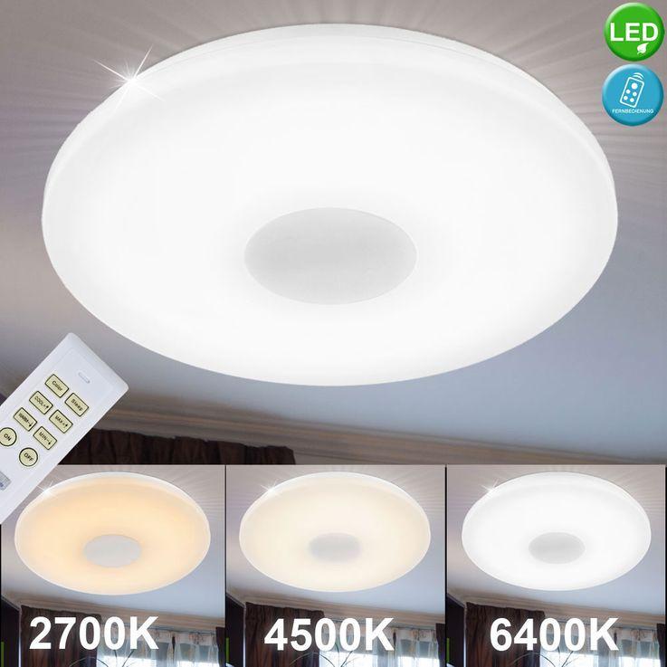 LED ceiling lamp lighting 15 Watt dimmable acrylic lamp Globo FELION 41327 – Bild 2