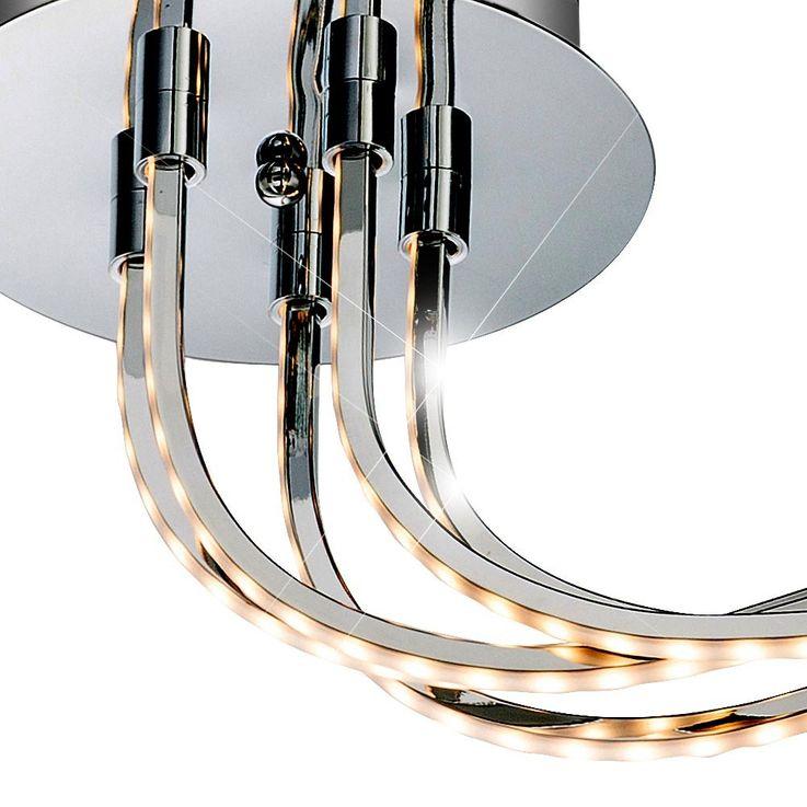 LED 28,5 Watt Decken Leuchte Acryl satiniert Esszimmer Lampe EEK A Globo REBEL 67814D2 – Bild 5