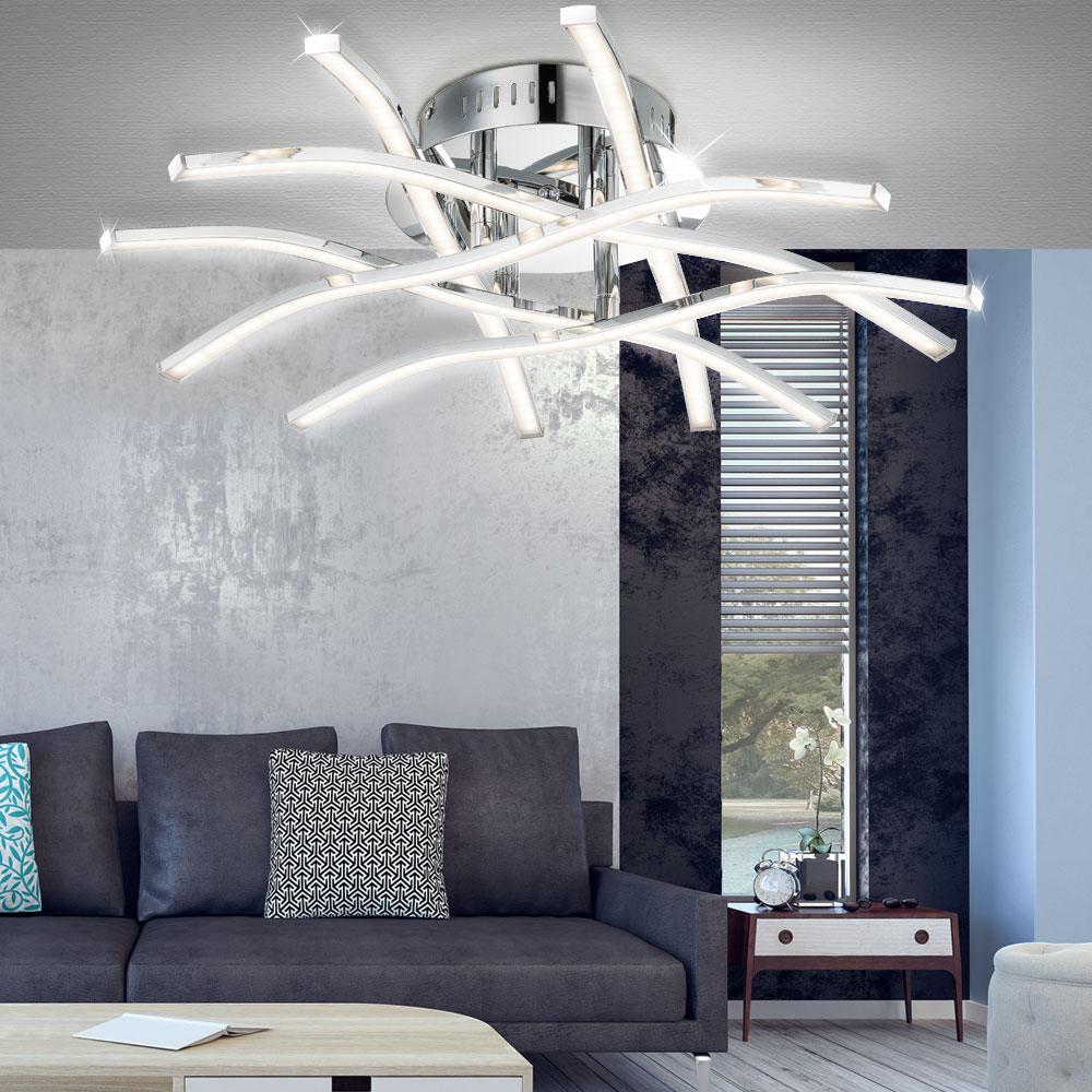 Extravagante Deckenleuchte mit LED Leuchtmittel SAHARA Lampen ...
