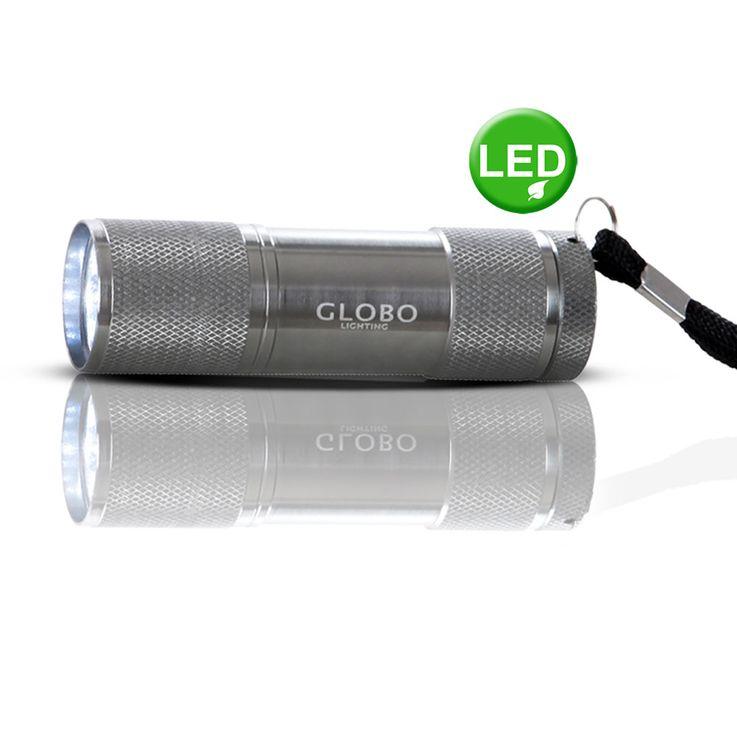 LED Taschenlampe, Aluminium, Länge 8,8 cm, FLASHLIGHT – Bild 2