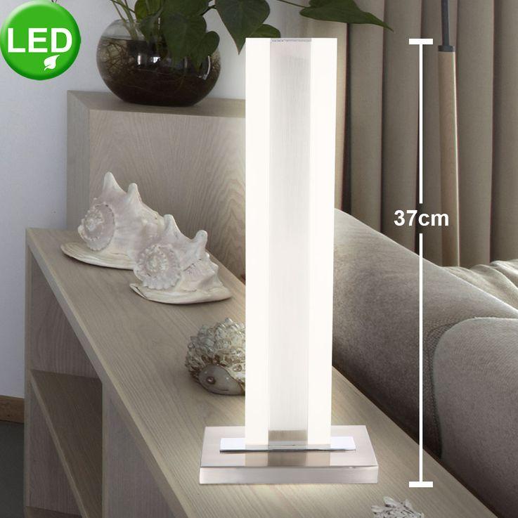 Lampe de table à LED Design ALU Spotlight Éclairage de salon Luminaire Chrome  Globo 68116T – Bild 2