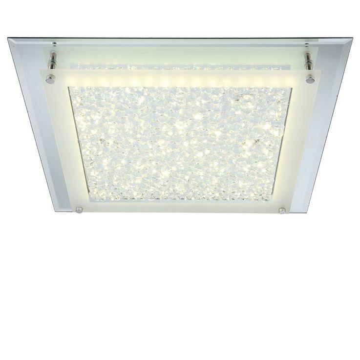 LED Deckenleuchte in chrom, Spiegelrand Globo LIANA 49302 – Bild 3