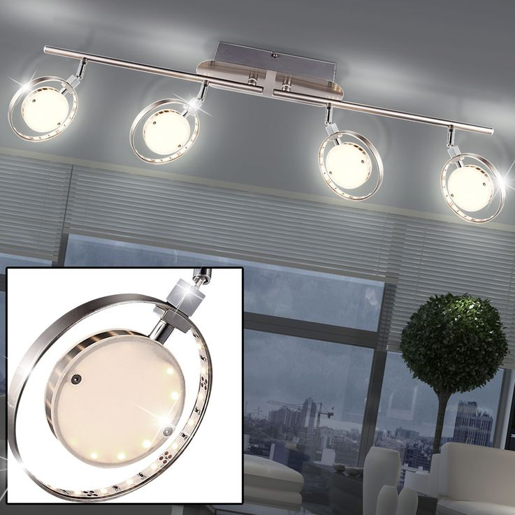 LED ceiling light with movable spots KATHARINA – Bild 2