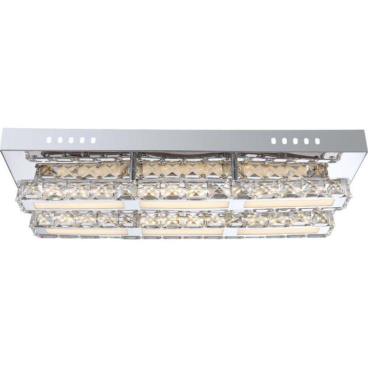 High-quality LED ceiling lamp in chrome Globo MILEY 67051-18 d – Bild 3