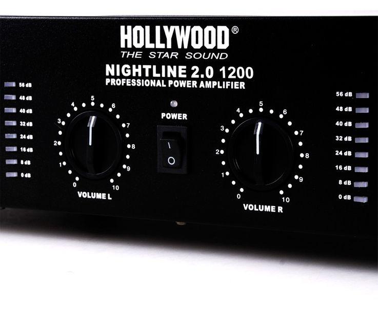 1800W PA karaoke music system speakers amp mixer wireless microphone DJ-burn 3 – Bild 4