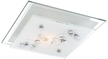 Modern ceiling lamp in square design – Bild 1