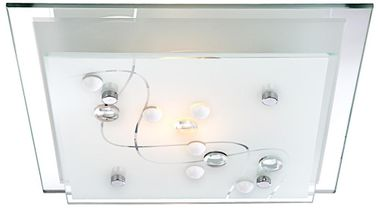 Modern ceiling lamp in square design – Bild 10