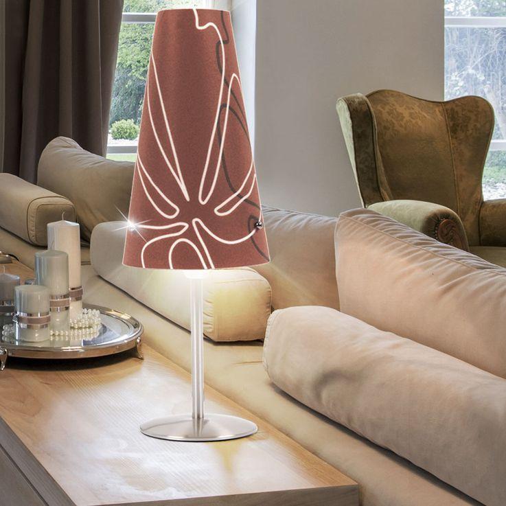 Hochwertige Tisch Leuchte Beleuchtung Lampe Lese licht Kabel Schalter Chrom Brilliant 02747/23 – Bild 4