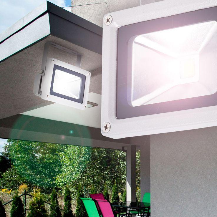 10 watt LED Bau spotlights outdoor flood lights variant wall spot light motion detector 3000-6000 K IP65 – Bild 4