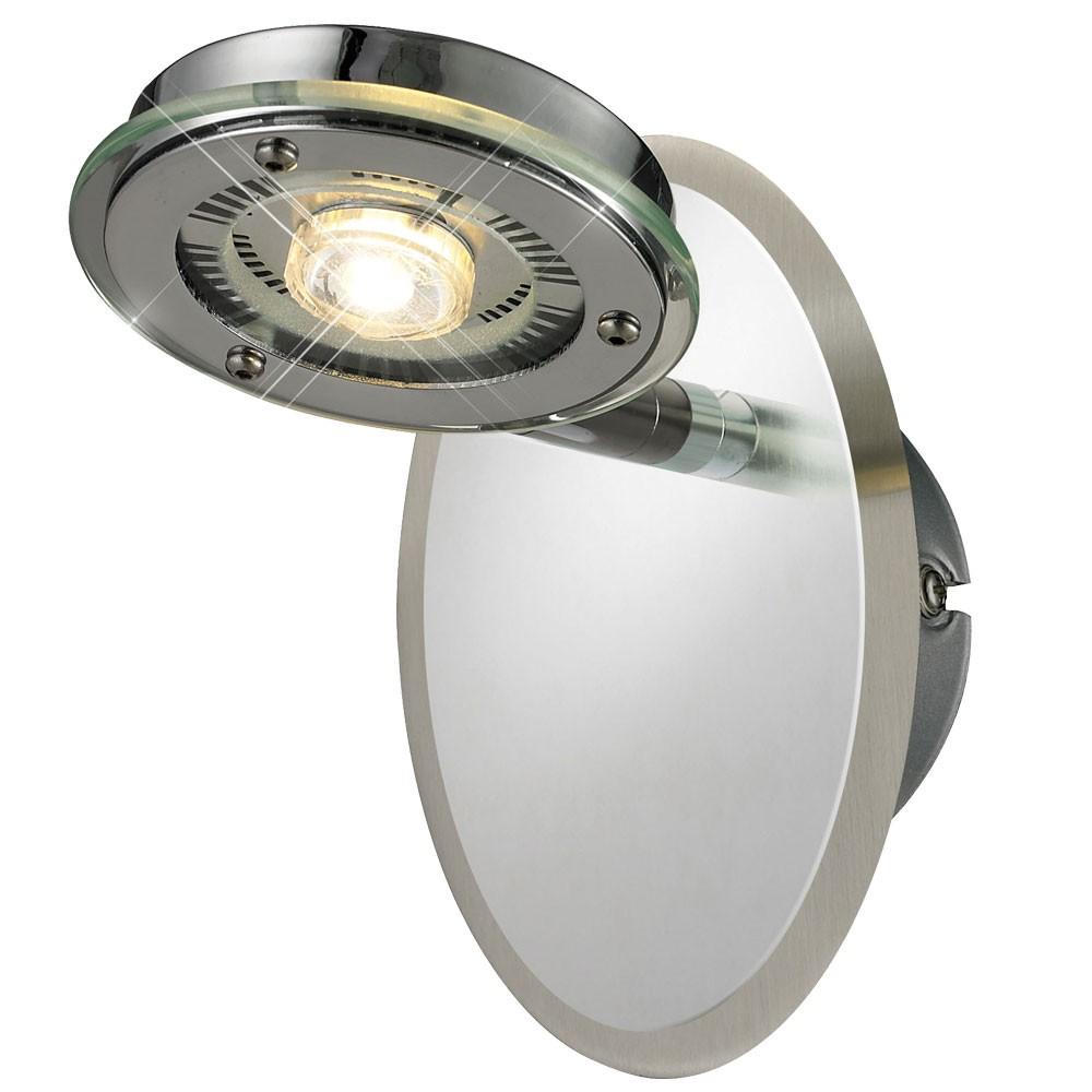 eleganter led wandstrahler f r den innenraum lampen m bel r ume wohnzimmer. Black Bedroom Furniture Sets. Home Design Ideas