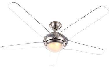 Cover fan with LED 20W lighting remote control 3-stage wings transparent Globo 0344 – Bild 1