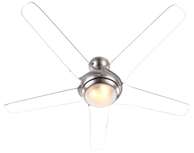 Ceiling fan with LED 20W lighting remote control 3-level wing transparent  Globo 0344 – Bild 7