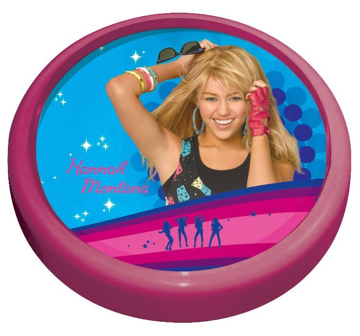 Girls kids room lamp light night light lamp Globo Hannah Montana 662365 – Bild 1