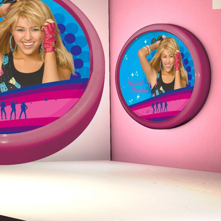 Girls kids room lamp light night light lamp Globo Hannah Montana 662365 – Bild 2