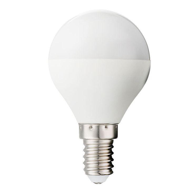 5 Watt LED Leuchtmittel dimmbar 350 Lumen Lampe E14 Sockel 3000 Kelvin Globo 10671D – Bild 1