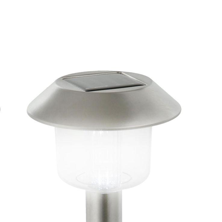 3er set LED solar lights plug lights of lights lights outdoor lights stainless steel Globo 33240-3 – Bild 4