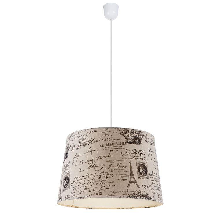 Lampe murale Design en crème avec Paris imprimé METALIC – Bild 1